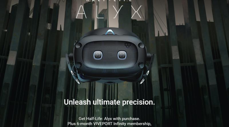 При покупке Vive Cosmos Elite дают бесплатную копию Half-Life: Alyx