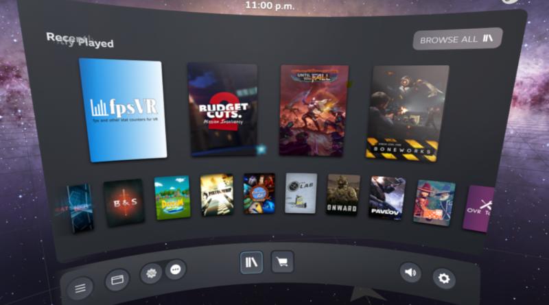 Valve работает над SteamVR 2.0, новый дашборд уже в бета-версии