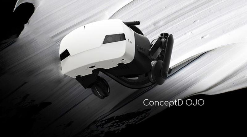 Acer отменили разработку шлема ConceptD OJO